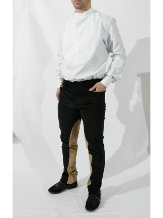 Pantalone con rinforzo elasticizzato